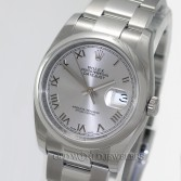 Rolex Datejust Ref 116200 Steel Rhodium Roman