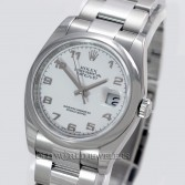 Rolex Datejust 116200 Steel White Arabic