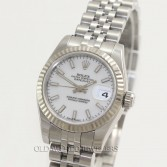 Rolex Lady Datejust 179174 Steel White Dial