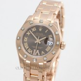 Rolex Masterpiece 80315 18K Rose Gold Chocolate Dial