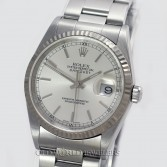 Rolex Datejust 16234 Steel Silver Stick Dial