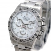 Rolex Daytona Cosmograph 116520 Steel White Dial