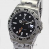 Rolex Explorer II 216570 Steel Black Dial
