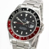 Rolex GMT Master II 16710 Steel Black/Red Coke Bezel