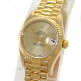 Rolex Lady President 69178 18K Yellow Gold Champagne Dial