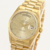 Rolex President 18038 18K Yellow Gold