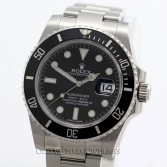 Rolex Submariner 116610 Steel Black Ceramic Bezel