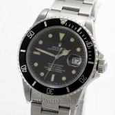 Rolex Vintage Submariner 16800 Black Dial Stainless Steel