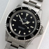 Rolex No Date Submariner Ref 5513 Steel Original Dial