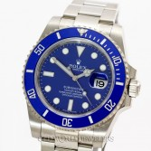 Rolex Submariner 116619 18K White Gold Blue Ceramic