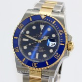 Rolex Submariner 116613 18K Gold Steel Blue Ceramic