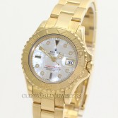 Rolex Lady Yacht Master 69628 18K Yellow Gold MOP Diamond Dial