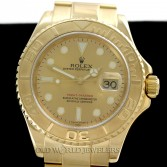 Rolex Yachtmaster 16628 18K Gold Champagne Dial