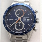 Tag Heuer Carrera Chronograph CV2015 Steel Blue Dial