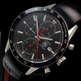 Tag Heuer Carrera Cal 16 Auto Chronograph Ref CV2015-2 Steel