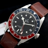 Tudor Black Bay GMT 79830RB Steel Black Dial