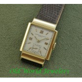 Vacheron Constantin Vintage Watch 18K Yellow Gold Hooded Lugs