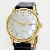 IWC Ingenieur Vintage 18K Yellow Gold Steel Back Automatic