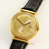 IWC Vintage Deluxe Automatic 18K Yellow Gold