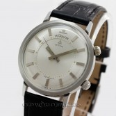 Jaeger LeCoultre Vintage Memovox Alarm Watch Stainless Steel