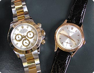 Rolex and Patek Phillipe Wristwatches